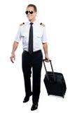 Gladlynt pilot Royaltyfri Bild