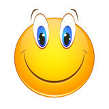 Gladlynt smiley Royaltyfria Foton