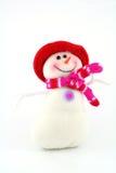 gladlynt snowman Arkivfoton