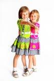 Gladlynt systrar Fotografering för Bildbyråer
