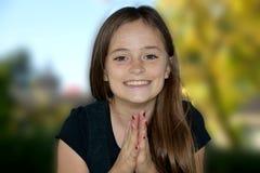 gladlynt tonåring royaltyfri foto