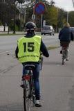 GLADSAXE POLIICE roweru testowanie Obrazy Royalty Free