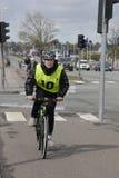 GLADSAXE POLIICE roweru testowanie Obraz Stock