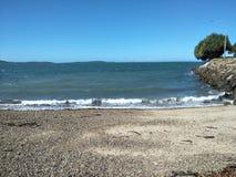 Spinnaker Park Beack. Gladstone Queensland beach royalty free stock photo