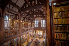 Gladstone's Library Royalty Free Stock Photos