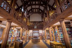 Gladstone's Library Central View Royalty Free Stock Photography