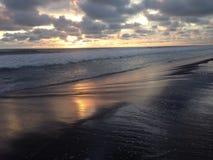 Glagah strand Arkivbilder