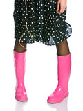 Glam boots Royalty Free Stock Image