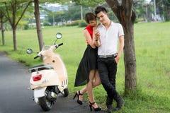 Glam couple Stock Photography