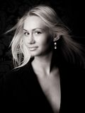 Glam girl Stock Image