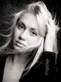 Glam girl Stock Photography