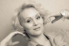 Glam girl Royalty Free Stock Image
