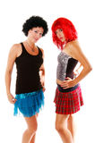 Glam Rock Girls 3. Glam Rock girls Stock Photography