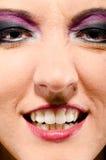 Glam rock woman Stock Image