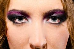Glam rock woman Royalty Free Stock Image