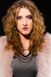 Glam rock woman Royalty Free Stock Photos