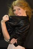 Glam Rockowa dziewczyna Obrazy Royalty Free
