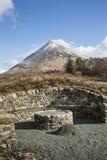 Glamaig from Sligachan on the Isle of Skye. Stock Images