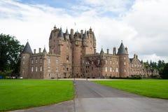Glamis城堡,苏格兰 免版税图库摄影