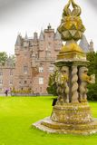 Glamis λεπτομερής κάστρο Σκωτία Ηνωμένο Βασίλειο Στοκ Εικόνα