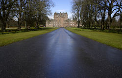 glamis Шотландия замока Стоковое фото RF