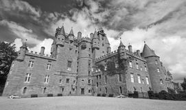 Glamis Castle in Scotland Royalty Free Stock Photography