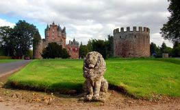 Glamis Castle, Scotland Stock Photos