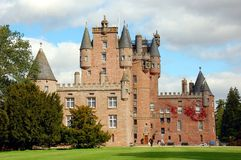Glamis Castle, Scotland Stock Images