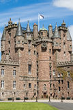 Glamis castle in Scotland Royalty Free Stock Images