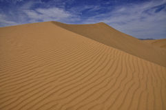 Glamis sand dunes. Glamis dunes, beautiful nature of the sand dunes on the border of Arizona and California Stock Photos