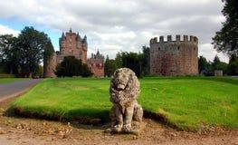 Glamis Schloss, Schottland Stockfotos