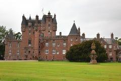Glamis slott, Skottland Arkivfoto