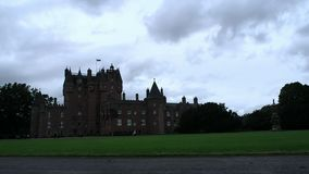 Glamis Castle, Scotland stock footage