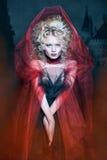 glamorös blond flicka Royaltyfri Bild