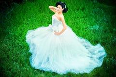 glamorös brud Royaltyfri Foto