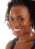 glamorös kvinna för afrikansk amerikan Royaltyfria Bilder