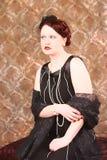 Glamorös rödhårig man Royaltyfri Bild