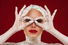 Glamorösa brunnsortbehandlingar arkivfoton