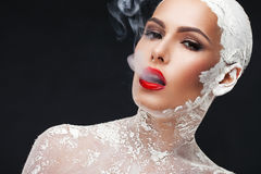Glamorösa brunnsortbehandlingar Royaltyfri Foto