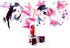 glamor stock de ilustración