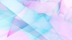 Glamor Background. With Blue Purple Crystal Abstract Background stock illustration