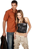 Glamor Couple Royalty Free Stock Photography