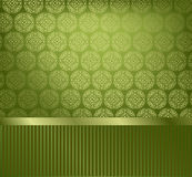 Glamor decorative wallpaper Royalty Free Stock Photography