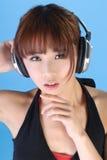 Glamor der asiatischen Schönheit Stockfoto