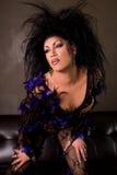 Glamor Drag queen. Stock Photography
