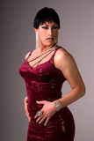 Glamor drag queen. Royalty Free Stock Photos