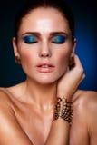Glamor fashion sexy model Royalty Free Stock Photography