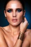 Glamor fashion sexy model Stock Photography