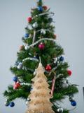 Christmas decor without glamor. stock image