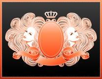 Glamor forever!. Beautiful vector illustration Royalty Free Stock Photo